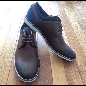 Jump J75 Surray brown men's dress shoes